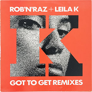 Rob 'N Raz + Leila K Got To Get Remixes LP