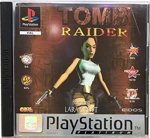 Tomb Raider (platinum) PS1