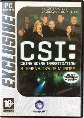 CSI 3 Dimensions of Murder PC