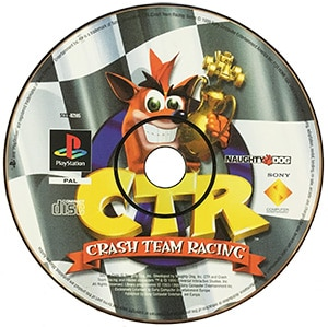 Crash Team Racing (kun disc) PS1