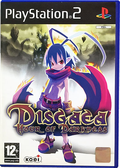 Disgaea Hour of Darkness PS2