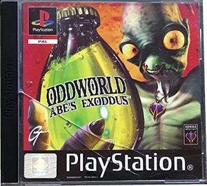 Oddworld Abe's Exoddus PS1
