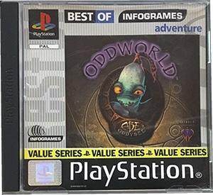 Oddworld Abe's Oddysee PS1