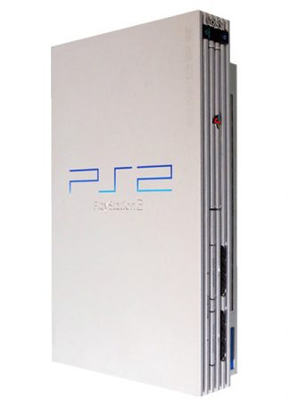 PlayStation 2 konsol Silver (SCPH-50003)