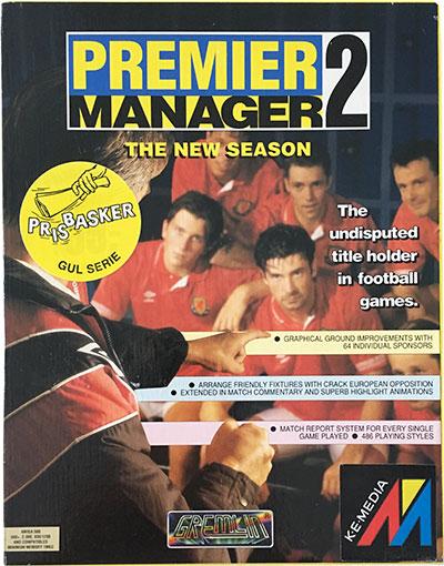 Premier Manager 2 Amiga
