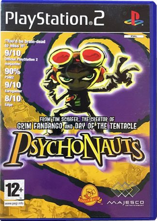 Psychonauts PS2