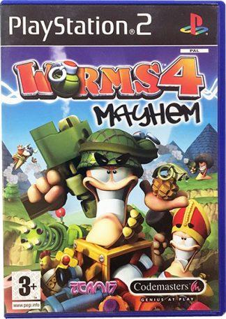 Worms 4 Mayhem PS2