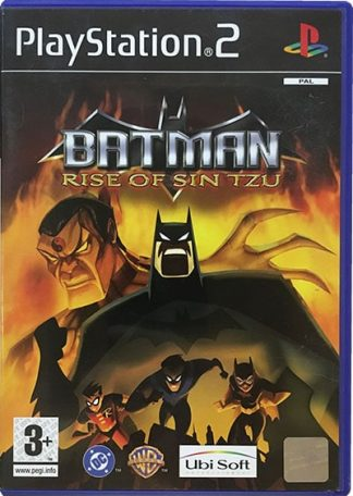Batman Rise Of Sin Tzu PS2