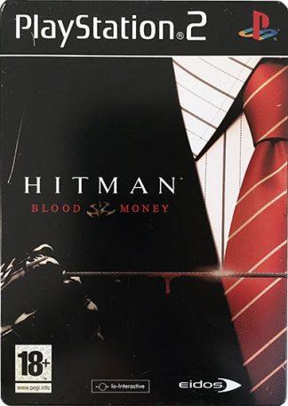 Hitman Blood Money Metal Case PS2
