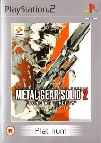 Metal Gear Solid 2 Sons of Liberty PS2 (platinum)
