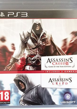 Assassin's Creed I + II PS3