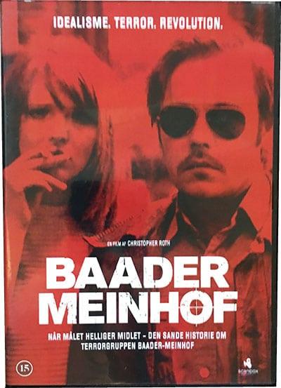 Baader Meinhof Dvd
