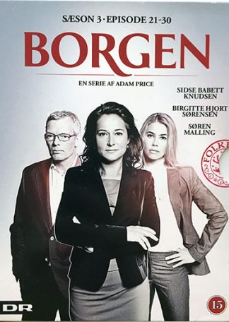 Borgen Sæson 3 (episode 21-30) DVD