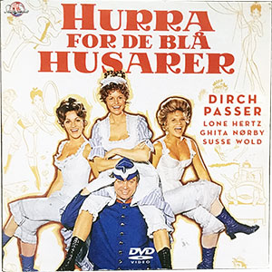 Hurra for de Blå Husarer (papcover) DVD