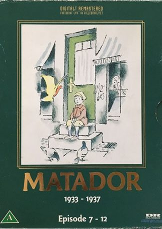 Matador Episode 7-12 DVD