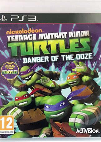 Nickelodeon Turtles Danger of the Doze PS3