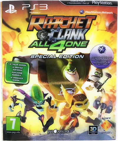 Ratchet & Clank All 4 One Special Edition PS3