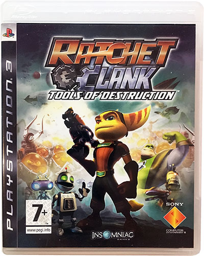 Ratchet & Clank Tools of Destruction PS3