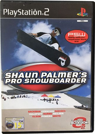 Shaun Palmer's Pro Snowboarder PS2