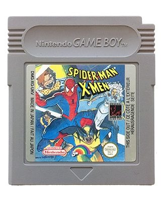 Spider-Man X-Men Game Boy