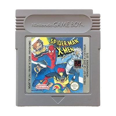 Spider-Man X-Men Game Boy