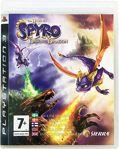 The Legend of Spyro Dawn of the Dragon PS3