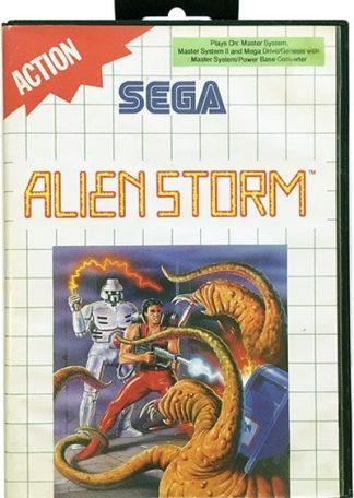 Alien Storm Sega Master System