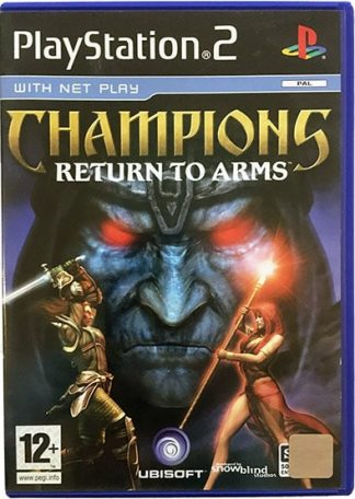 Champions Return to Arms PS2