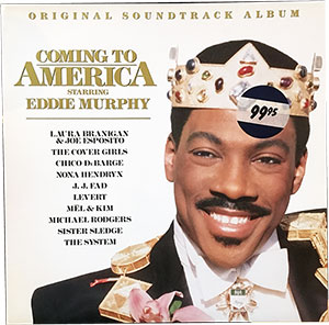 Coming to America Soundtrack LP