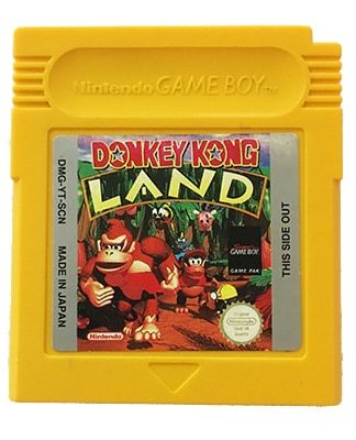 Donkey Kong Land Game Boy