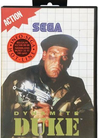 Dynamite Duke Sega Master System