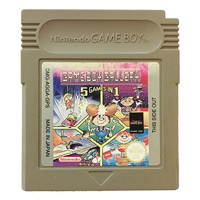 Game Boy Gallery 5 Games In 1 Game Boy