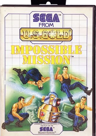 Impossible Mission Sega Master System