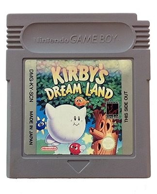Kirby's Dream Land Game Boy