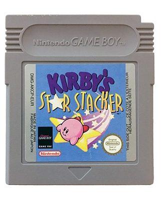 Kirby's Star Stacker Game Boy