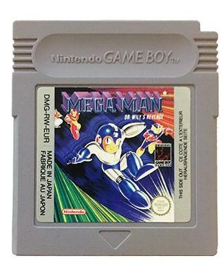 Mega Man Dr. Wily's Revenge Game Boy