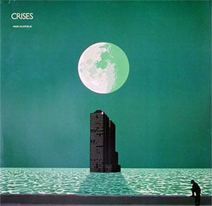 Mike Oldfield Crises LP