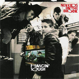 New Kids On The Block Hangin' Tough LP