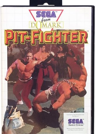 Pit-Fighter Sega Master System