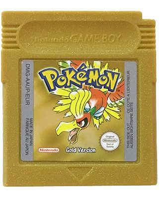 Pokémon Gold Game Boy