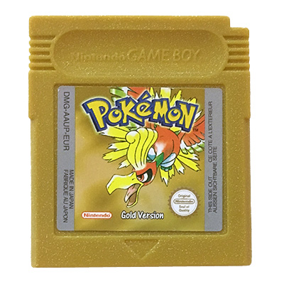Pokémon Gold Game Boy