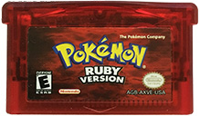 Pokémon Ruby Version GBA