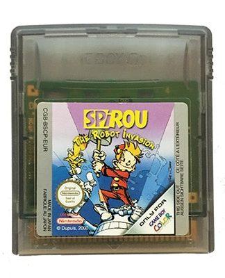Spirou the Robot Invasion Game Boy Color