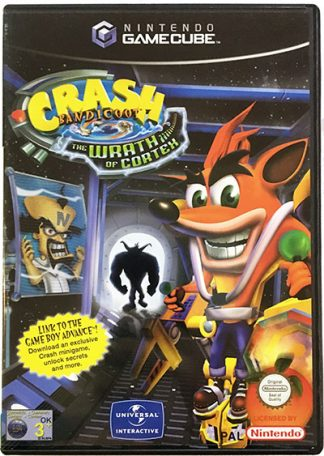 Crash Bandicoot The Wrath of Cortex GameCube