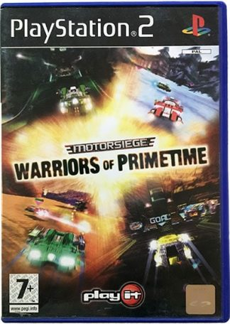 Motorsiege Warriors of Primetime PS2