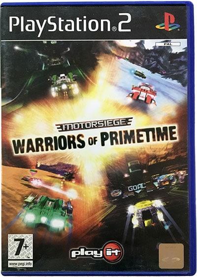 Motorsiege Warriors of Primetime PS2
