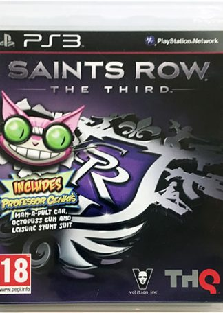 Saints Row The Third PS3