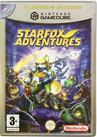 Starfox Adventures GameCube