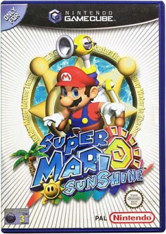 Super Mario Sunshine Game Cube