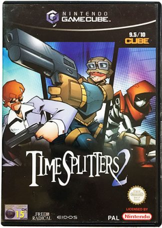 Time Splitters 2 Game Cube